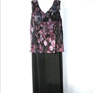 Coldwater Creek Maxi Dress Sz 10P Party Event
